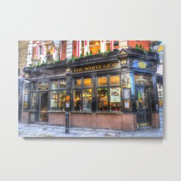 The White Lion Covent Garden London Metal Print
