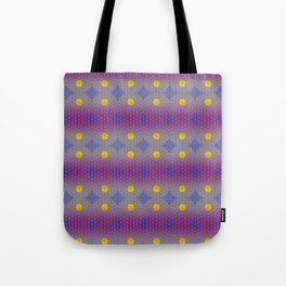 LIBRA sun sign Flower of Life Pattern Tote Bag