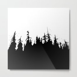 Fairytale Forest Metal Print