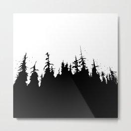 Fairytale Forest Metal Print