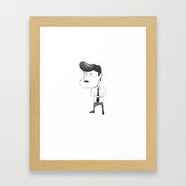 Pedrito Infante Framed Art Print