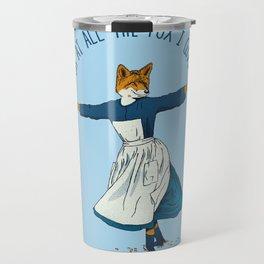 Look At All The Fox I Give - I Travel Mug
