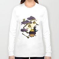 halloween Long Sleeve T-shirts featuring Halloween by Anna Shell
