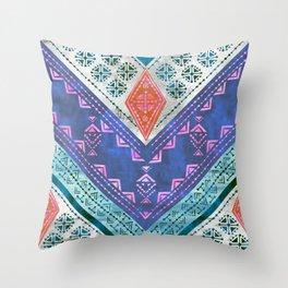 Jirra Boho Chevron {1A} Throw Pillow
