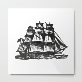 Merchant ship Metal Print