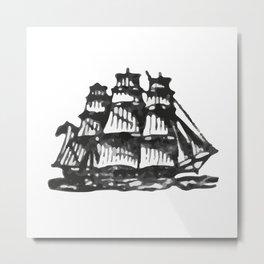 Merchant ship Metal Print
