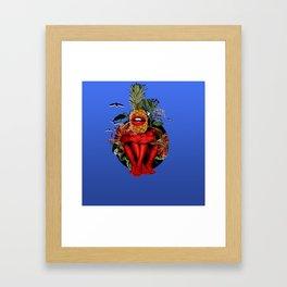CONCEPT FEM 1 Framed Art Print