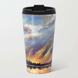 Fire on the Water Travel Mug