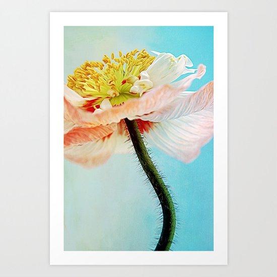 Lady Poppy Art Print