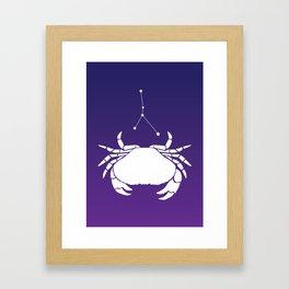 sign. cancer Framed Art Print
