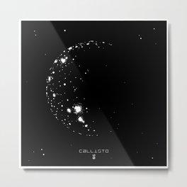Callisto Metal Print