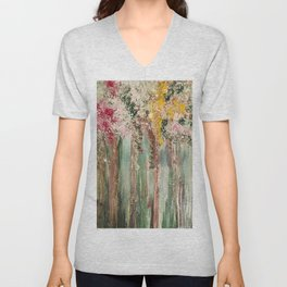 Woods in Spring Unisex V-Neck