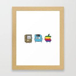 The Three Best Friends Framed Art Print
