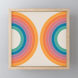Boca Sonar Framed Mini Art Print