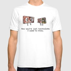 Technology I Used To Know Mens Fitted Tee White SMALL
