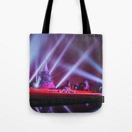 Ayutthaya lights Tote Bag