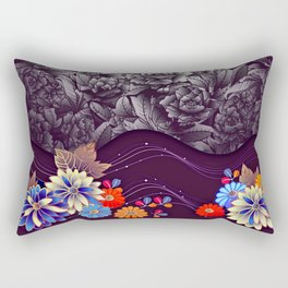 Armenian Roses Rectangular Pillow