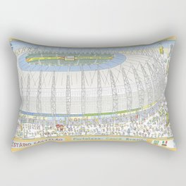 Castelão Arena, Fortaleza, Ceará, Brazil Rectangular Pillow