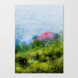 Suddenly, spring (all'improvviso, primavera) Canvas Print