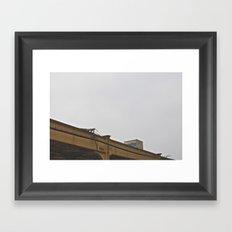L Track Framed Art Print