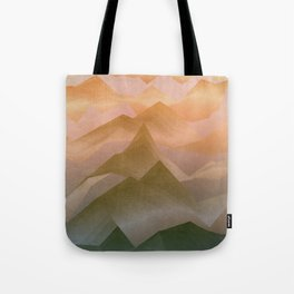 Top of the World (Sunrise) Tote Bag