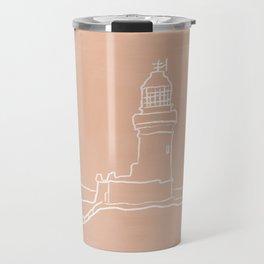 Byron Bay Lighthouse | Simple Line Art Drawing | East Coast, Australia  Travel Mug