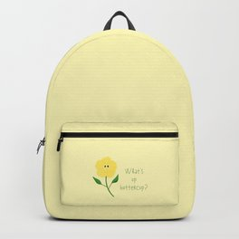 What's Up Buttercup Backpack