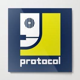 Protocol Metal Print