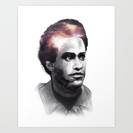 Huey Percy Newton (2/17/1942 – 8/22/1989) Art Print