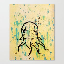 Friendly Octopi Canvas Print