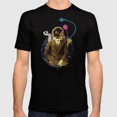 Look to your orb for the warning Mens Fitted Tee Black LARGE