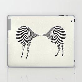 zebra mating Laptop & iPad Skin