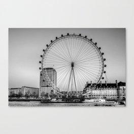 London Eye, London Canvas Print