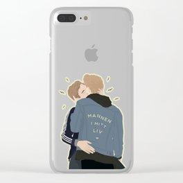 MANNEN I MITT LIV Clear iPhone Case