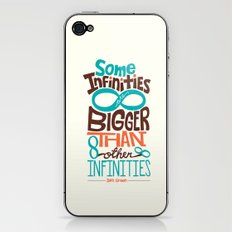 Some Infinities Are Bigger Than Other Infinities iPhone & iPod Skin