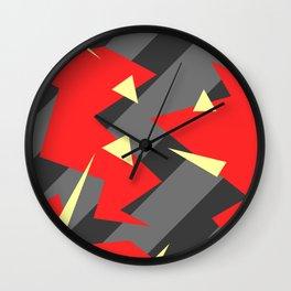 Sinister Pattern Wall Clock