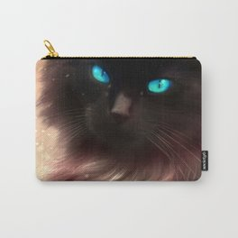 A cat beauty in the snowlands Carry-All Pouch