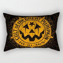 Cult of the Great Pumpkin: Alchemy Logo Rectangular Pillow