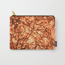 Gold Veins Carry-All Pouch