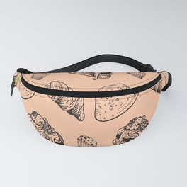 Baking Pastry Shop Muffins Cake Fanny Pack
