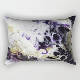 Fluid Expressions - Lavander Waters Rectangular Pillow