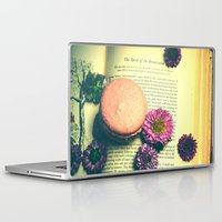 macaroon Laptop & iPad Skins featuring The Spirit of the Renaissance  by Olivia Joy StClaire