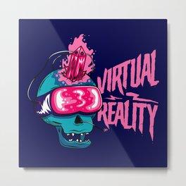 Virtual Reality Metal Print
