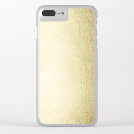Simply Gilded Palace Gold Clear iPhone Case