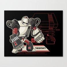 NES Man Canvas Print