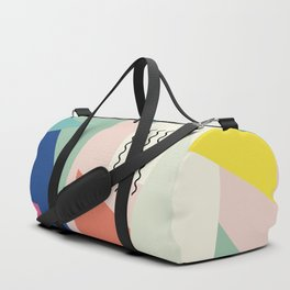 Shapes and Waves Duffle Bag