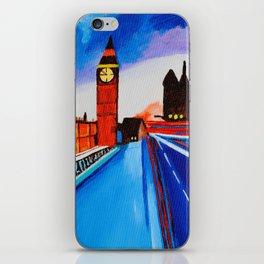 London At Night iPhone Skin