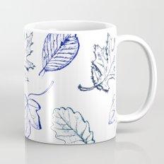 Leaves (navy) Coffee Mug