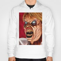 ed sheeran Hoodies featuring Evil Ed by Norm Gaudette