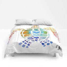Hug a Sea Turtle Comforters